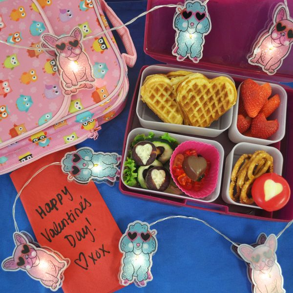 valentine's day bento box