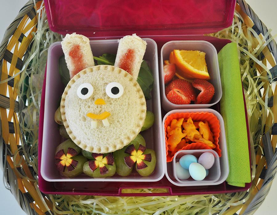Easter bento box