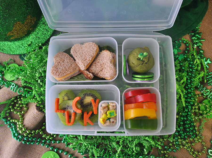 St. Patrick's Day Bento Box