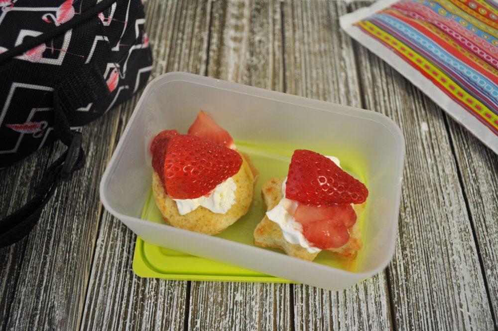 snack-size strawberry shortcake